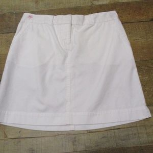 Lilly Pulitzer White Cotton above knee Skirt 2